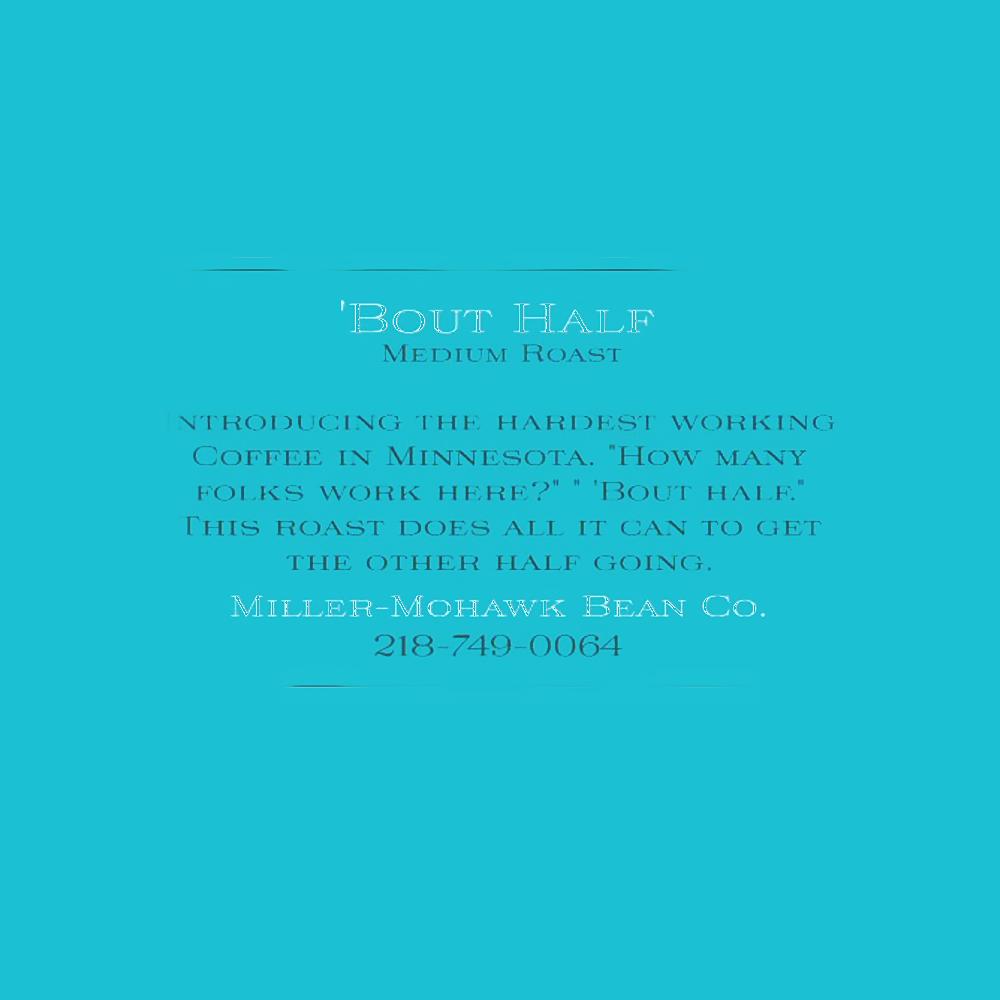 Bout Half Label